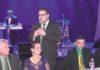Alan durante a solenidade de entrega do Diploma Cinquentenário ao Clube Indaiá - Foto: Diário MS