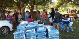 Foram adquiridos 1.500 cobertores pela prefeitura e parte destes já foi entregue à população – Foto: Assecom