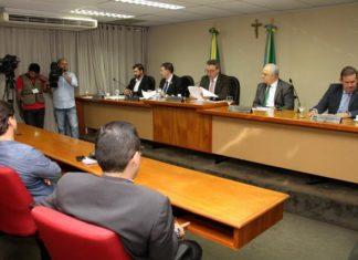 Membros da CPI das Irregularidades Fiscais e Tributárias de Mato Grosso do Sul se reuniram nesta quarta-feira, 05 – Assessoria ALMS