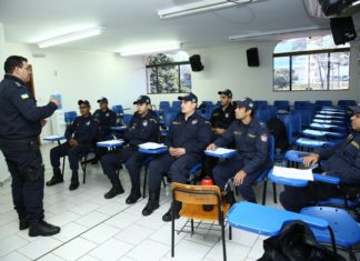 Guardas Municipais de Bonito participam de curso na GM de Dourados – Foto: A. Frota