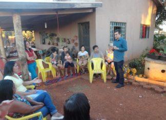 Marçal ouviu reivindicações de moradores do Campo Belo - Divulgação