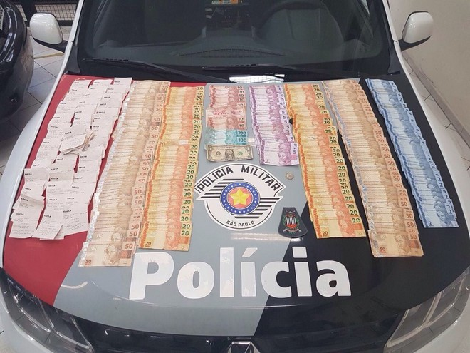 Quadrilha é presa após sacar valores de contas inativas do FGTS - Foto: Divulgação/Polícia Militar