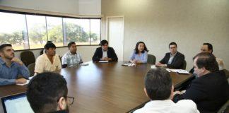 A prefeita Délia Razuk recebeu comitiva representando o Hospital Porta da Esperança, mantido pela Missão Evangélica Caiuá - Foto: A. Frota