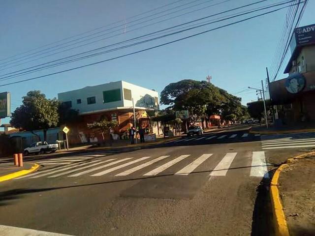 Grande fluxo de veículos no cruzamento da rua Bela Vista com Monte Castelo gerou a necessidade da instalação - Foto: Divulgação/Agetran