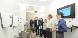 Técnicos e gestores do Senai e Senar visitaram nesta quinta-feira a Rede de Laboratórios do Senai de Dourados - Divulgação