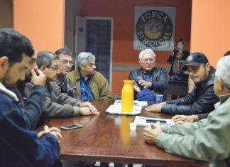 Reunião da Força Sindical de MS com sindicalistas de diversas categorias foi nesta segunda-feira, 17 - Assessoria