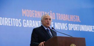 """Reformas geram resultados positivos e transformam """"Brasil para melhor"""", diz Temer em vídeo - Foto: Alan Santos/PR"""