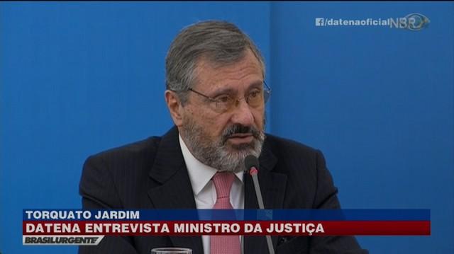 Ministro em entrevista ao programa '90 Minutos Com Datena', da Rádio Bandeirantes - Reprodução