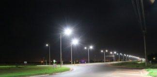 Trecho da Avenida Guaicurus ficou às escuras por dois dias na semana passada devido furto de cabos de iluminação – Foto: Assecom