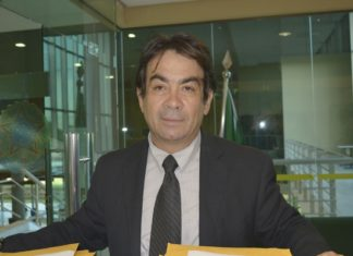 Antônio César Amaral Medina, coordenador administrativo do Sindjufe/MS - Divulgação