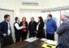 Paulo Cesar esteve na Prefeitura acompanhado do gerente geral da Caixa em Dourados, José Zani Carrascosa, e de técnicos da Superintendência - Foto: A. Frota