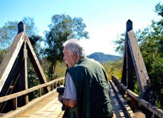 Carlos Vergara não visa interpretar a natureza local, mas deixar que ela se autoregistre - Divulgação