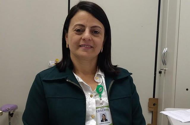 Edméia Barrios de Azambuja Gonçalves, ouvidora do HU-UFGD – Divulgação