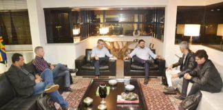 Sérgio Longen reuniu-se na noite desta terça-feira com empresários da Brave-Brasil Veículos Elétricos - Assessoria