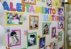 Mostra de fotos enviadas pelas próprias colaboradoras do hospital, com registros de seus momentos de amamentação - Divulgação