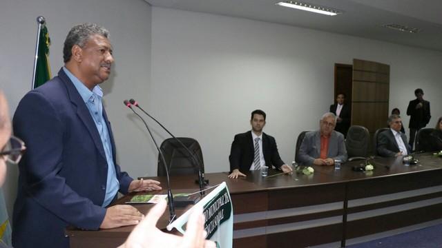 O deputado João Grandão na Conferência de Maracaju, uma das 20 que a Frente participou – Foto: Assessoria
