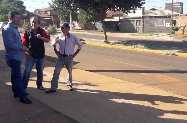 """""""Estou aqui para atender as comunidades e buscar melhorias"""", disse o vereador Olavo Sul - Foto: Assessoria"""