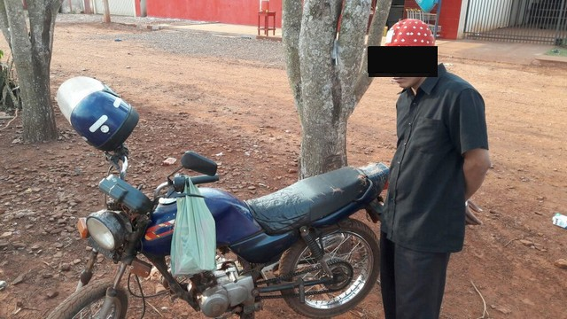 Foragido da justiça foi capturado durante a ação policial – Assessoria 3º BPM