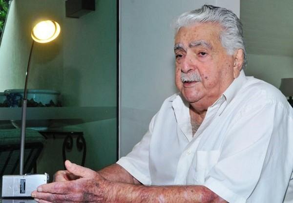 Ex-governador Pedro Pedrossian faleceu no final desta madrugada na casa onde ele morava, em Campo Grande - Divulgação