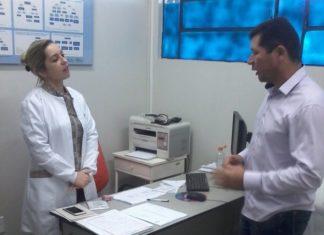 Olavo Sul visita postos de saúde em Dourados e distritos - Foto: Assessoria