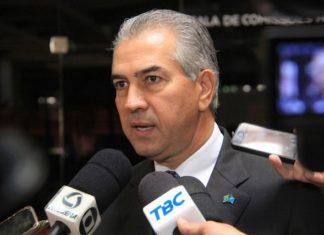 Governador comemora, pois MS é o único Estado do país a receber a certificação internacional – Foto: Chico Ribeiro