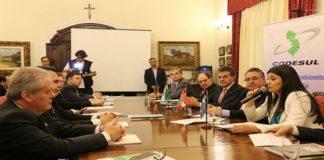 Reunião do Codesul aconteceu em Florianópolis nesta sexta-feira - Foto: Leca
