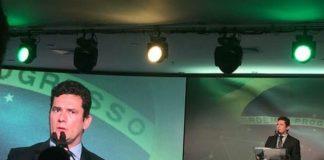 Sérgio Moro em evento em São Paulo - Foto: Ansa