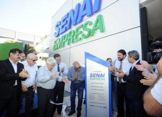 Nova sede do Senai Empresa foi inaugurada nesta sexta-feira, 25 - Assessoria