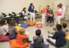 Projeto é desenvolvido com crianças de 6 a 9 anos de idade – Foto: Decom