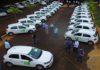 Novos veículos foram entregues para unidades da Agraer de 25 municípios - Foto: Chico Ribeiro