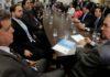 Governador reunido com vereadores de Campo Grande – Foto: Chico Ribeiro