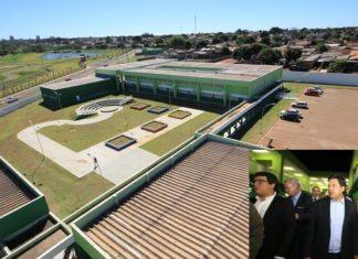 Centro Estadual de Educação Profissional foi inaugurado nesta segunda pelo governador Reinaldo Azambuja e pelo ministro Mendonça Filho – Fotos: Edemir Rodrigues