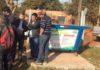Contêineres distribuídos nas aldeias indígenas já apresenta resultado positivo quanto à coleta de lixo – Foto: A. Frota