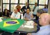 Secretário Carlos Alberto de Assis, e Ricardo Senna, adjunto da Semagro, representaram o governador Reinaldo Azambuja no encontro - Foto: Edemir Rodrigues