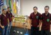 Projeto de uma horta hidropônica vertical foi apresentado - Divulgação