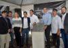 Lançamento da pedra fundamental da Cervejaria Navarro, nesta quarta-feira no Polo Industrial Oeste, em Campo Grande - Divulgação