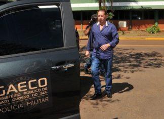 Gerson Claro mais três funcionários foram levados coercitivamente para delegacia – Foto: Valdenir Rezende/Correio do Estado