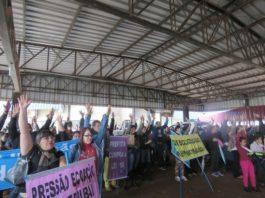 Sem nenhuma proposta do Governo Municipal, servidores/as da Educação deflagram greve por tempo indeterminado na próxima semana - Foto: SIMTED