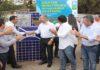 Governador Reinaldo Azambuja e o prefeito Odilon Ribeiro inauguraram a obra no final da manhã desta terça-feira – Foto: Chico Ribeiro