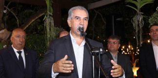 Governador durante o lançamento da segunda edição da Rota de Integração Latino-Americana, na noite desta quinta-feira – Foto: Edemir Rodrigues