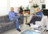 Luiz Rocha, diretor-presidente da Sanesul, se reuniu na quinta-feira (10) com o prefeito de Bonito, Odilson Arruda Soares - Assessoria