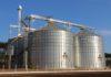 Cooperativa Aurora inaugurou nesta terça-feira, 22, um conjunto de armazenagem com quatro silos – Foto: João Prestes