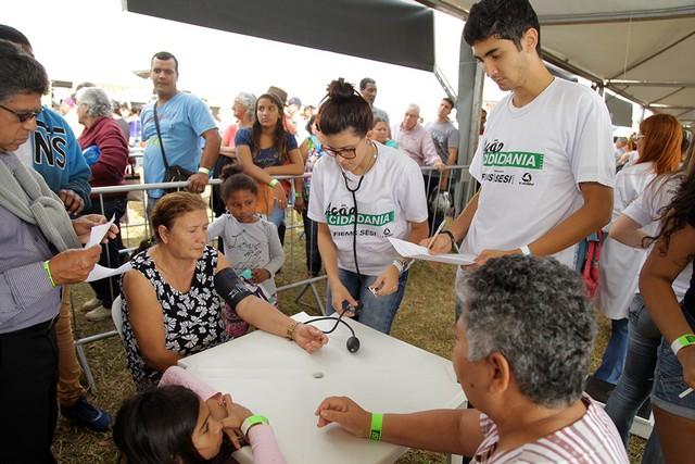 Ação Cidadania em Sidrolândia será das 8h às 15h deste sábado, no Ginásio Brizolão - Divulgação