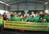 Governador durante entrega da cobertura da quadra de esportes da Escola Estadual Frei Vital de Garibaldi – Foto: Edemir Rodrigues
