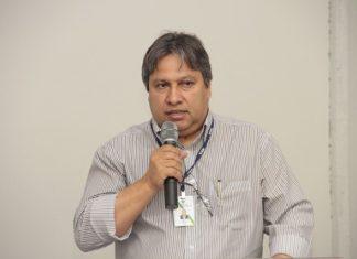 Betini durante apresentação do Plano Safra - Assessoria
