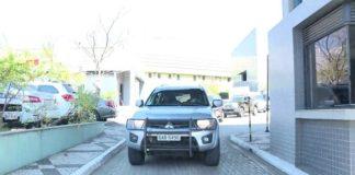 Carro com Joesley Batista deixou sede da PF em SP na manhã desta segunda - Foto: Reprodução/TVGlobo