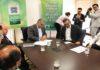 Contrato foi assinado na tarde desta terça-feira (5); retomada das obras é imediata – Foto: Chico Ribeiro