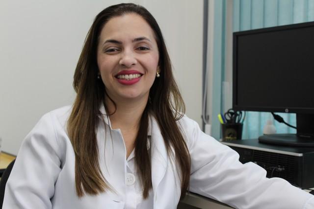 Enfermeira Cristiane de Sá Dan, presidente da Comissão Intrahospitalar de Doação de Órgãos e Tecidos para Transplantes (CIHDOTT) do HU-UFGD - Divulgação