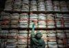 Fardos de embalagens da Associação dos Distribuidores de Produtos Agrícolas de Rio Verde - Divulgação