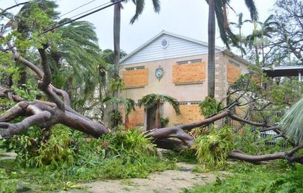 Furacão 'Irma' foi o mais forte a atingir os EUA desde a década de 1930 – Foto: EPA
